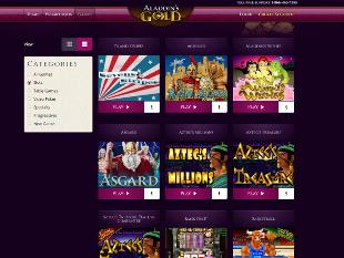 Aladdin's Gold Casino Lobby